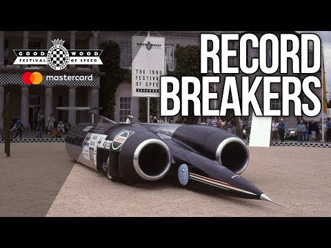 5 amazing record breakers at the Festival of Speed