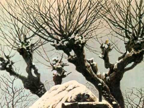Franz Schubert, Rast-Winterreise, Caspar David Friedrich