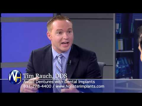 Replace Missing Teeth with Dental Implants with Hollister, CA Dentist Tim Rauch, DDS