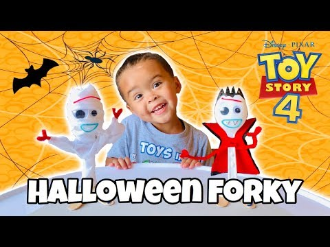 DIY Halloween Toy Story 4 Forky