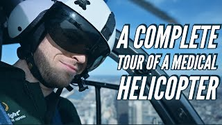 What Is It Like Flying Inside A Medical Helicopter??
