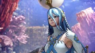 Monster Hunter World - Fire Emblem Warriors Azura Character Mod