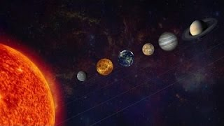 Planeten Des Sonnensystems   Der Blick Aus Dem Weltraum.