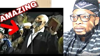 Ahmed Deedat Answer - Why Do You Claim Islam To Be The True Religion? REACTION