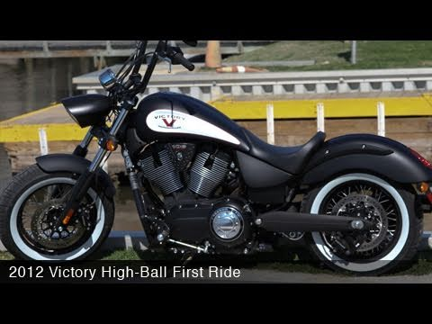 MotoUSA 2012 Victory High-Ball Daytona Beach Ride