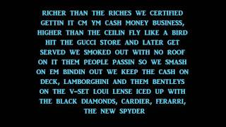 Money to Blow - Birdman - Lyrics