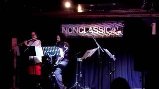 "Shadanga Duo | Bálint Baráth- ""Színakkordok"" for (alto) flute, (bass) clarinet, and electronics"