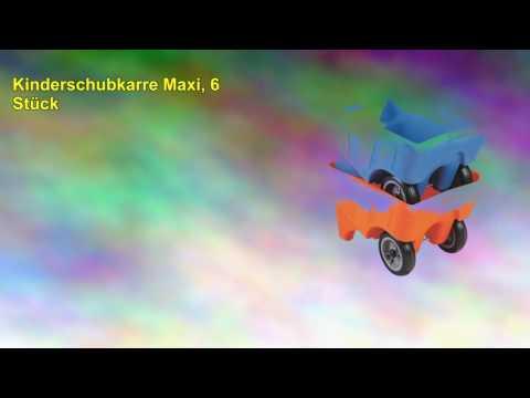 Kinderschubkarre Maxi, 6 Stück