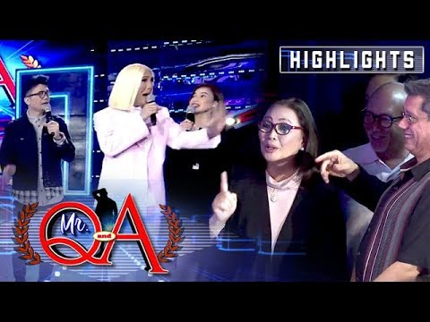 Vice, Vhong and Anne panic after Cory Vidanes visited It's Showtime | It's Showtime Mr Q and A