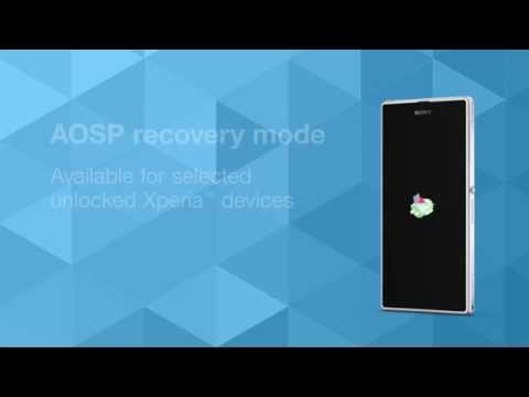 Recovery mode now available for a range of unlocked Xperia devices [video]