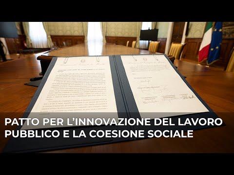 SMART WORKING e FORMAZIONE nel Patto per l'innovazione del lavoro pubblico e la coesione sociale