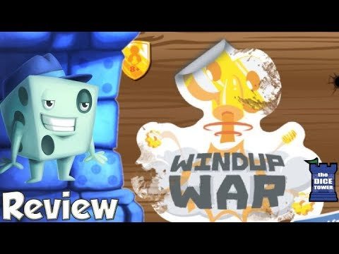 Windup War Review - with Tom Vasel