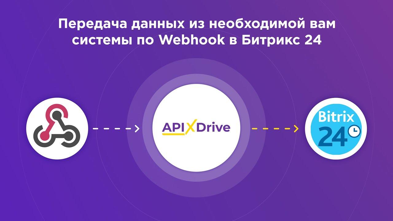Как настроить выгрузку данных по Webhook в виде сделок в Bitrix24?