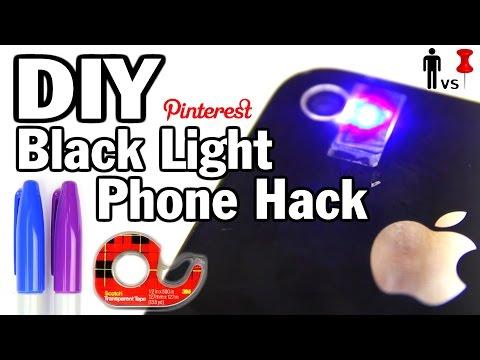 DIY Black Light Phone Hack – Man Vs. Pin #32