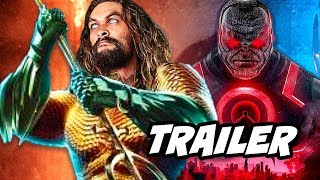 Aquaman Trailer - Justice League and Darkseid Easter Eggs