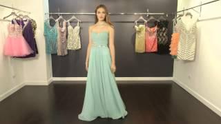 Strapless Chiffon Prom Dress JVN78331 | JVN By Jovani
