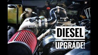 6.5 Diesel Intake Upgrade:  Project Old Bones - K3500