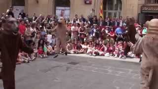 preview picture of video 'Ball dels Óssos - Festa Major Solsona 2014'