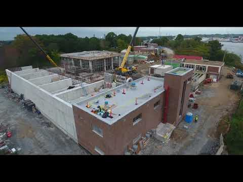 October 2018 Aerial Progress Video Peirce Island WWTF Project