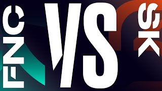 FNC vs. SK - Week 4 Day 1   LEC Summer Split   Fnatic vs. SK Gaming (2020)