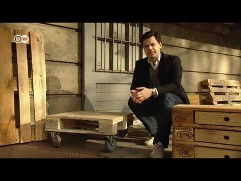 Design-Möbel aus Holz-Paletten | Euromaxx
