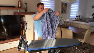 EV Bügeltisch - Bügeln wie die Profis mit Troockendampf