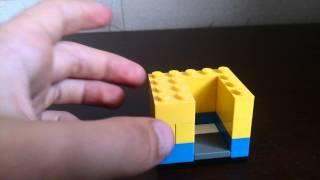 Как сделать лего сейф 1