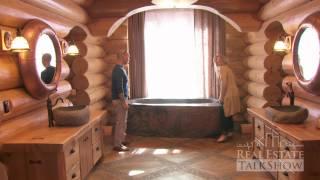 RealEstateTalkShow visits Hirsh Log Homes