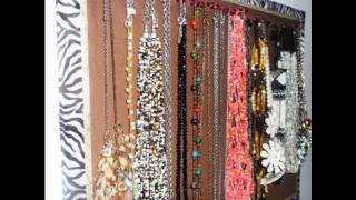 DIY: Cute Necklace Display