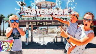 Exploring An Abandoned Waterpark! 😱 (WE GOT LOST!)