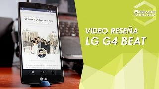 LG G4 Beat, review en español