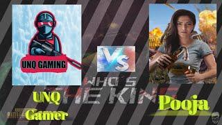 UNQ Gamer Vs Pooja || Punju  vachi pettani Mingithe Ela Vuntadho Choosthara... #Punjusquad
