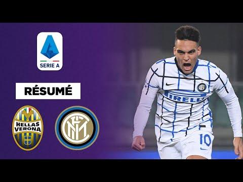 Résumé : L'Inter Milan s'impose par un petit score contre l'Hellas Vérone (Vidéo)