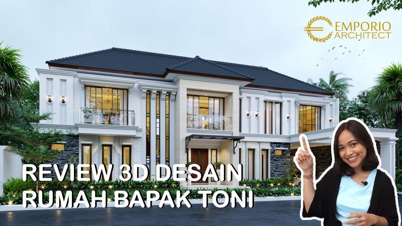 Video 3D Mr. Toni Classic House 2 Floors Design - Manado