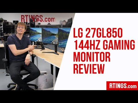 LG 27GL850 144Hz Gaming Monitor Review - RTINGS.com