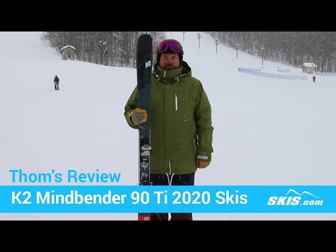 Video: K2 Mindbender 90 TI Skis 2020 20 40