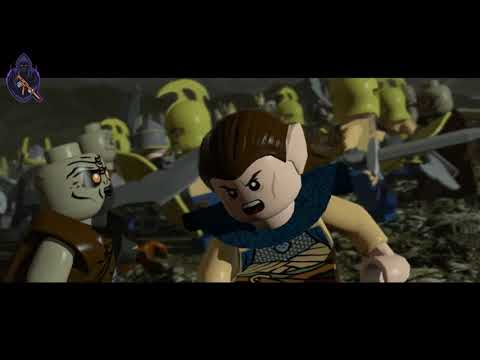LEGO The Lords of Ring Gameply HD 1080p 60 FPS | Kunta Gaming
