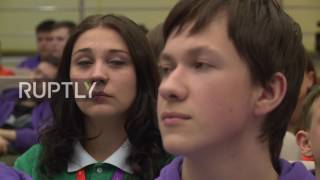 Russia: School students learn about state-of-the-art technologies in Sochi