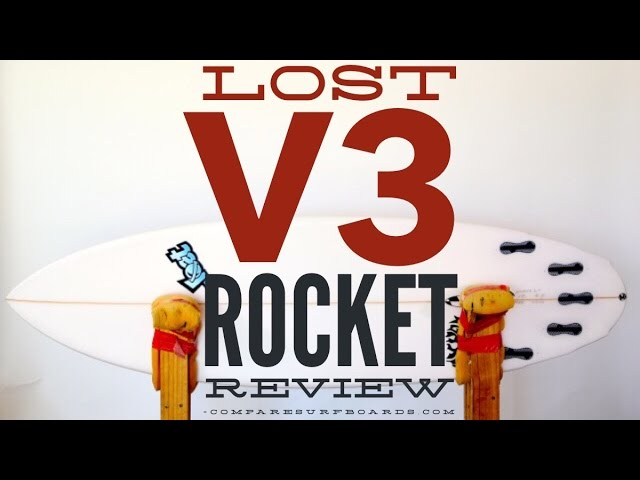Lost Surfboards V3 Rocket Review no.43 | Compare Surfboards