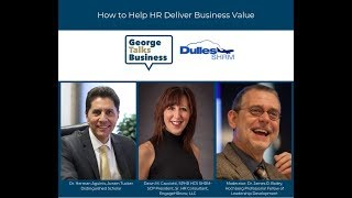 video - George Talks Business: How to Help HR Deliver Business Value