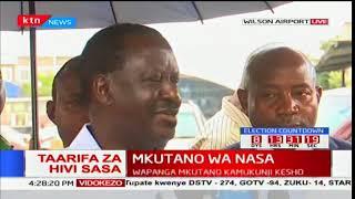 NASA principal Raila Odinga says he is ready for a free