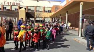 preview picture of video 'Carnaval 2014-Colegio Virgen del Carmen - Onda'