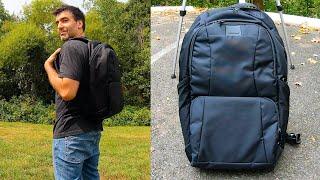 Metrosafe LS450 Anti-Theft Backpack Review: Pickpocket Deterrent?