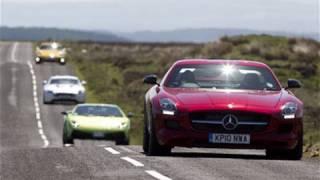 [Autocar] Mercedes SLS v Aston Martin Vantage v Porsche 911 v Lamborghini Gallardo