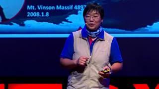 登山挑戰不在踏上頂峰,而是下山的旅途:江秀真 Hsiu Chen Chiang @TEDxTaipei 2015 | Kholo.pk