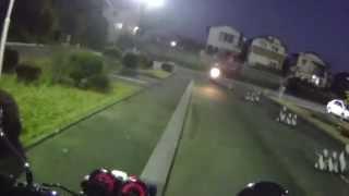 初心者必見!バイクの免許取得への道(その5)〜2時限目;一本橋を猛特訓の巻〜(日本語字幕)