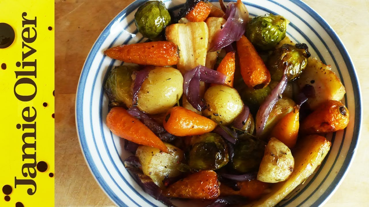Roast Vegetables Amp British Bubble And Squeak With My