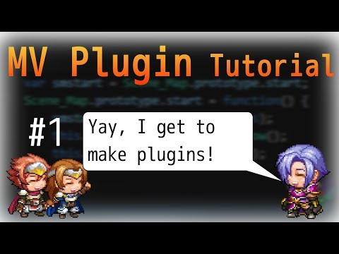 RPG Maker MV Plugin Development Tutorial - #1 - Creating Params And Windows