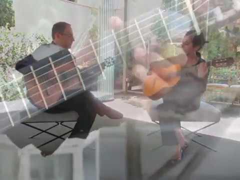 Dúo de guitarras en boda civil y cóctel