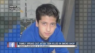 Father of teen killed in smoke shop during attempted robbery speaks out